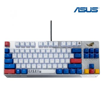 Asus Keyboard Gaming รุ่น ROG Strix Scope TKL GUNDAM EDITION