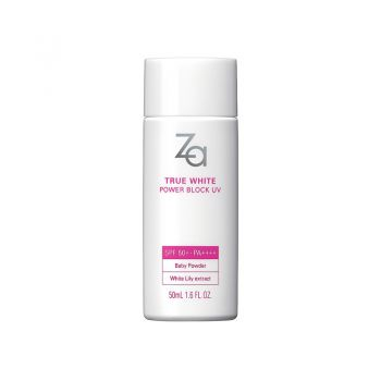 Za True White EX Power Block UV SPF50+ PA++++ For Face & Body 50ml