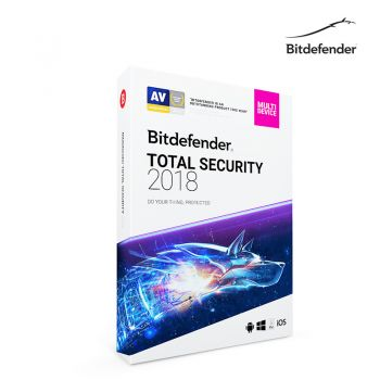 Bitdefender Total Security 2018 1Year 5Devices